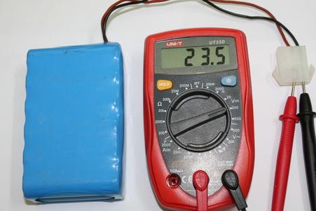 改装之前测量电压